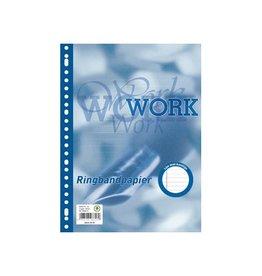 Work Work ringbandinterieur A4, 23 gaten met kantlijn