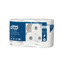 Tork Tork toiletpapier Conventional, 4-l, systeem T4, 6 rollen