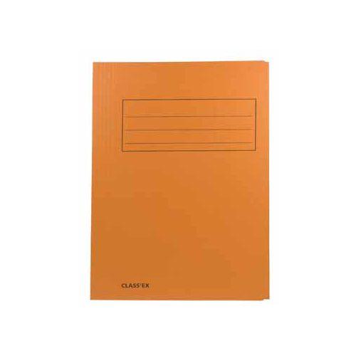 Classex Class'ex dossiermap, 3 kleppen 23,7 x 32cm(voor A4), oranje
