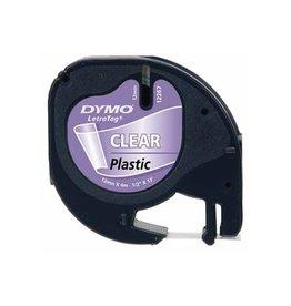 Dymo Dymo LetraTAG plastic tape 12 mm, transparant