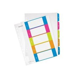 Leitz Leitz WOW printbare index, 5 tabs