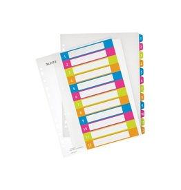 Leitz Leitz WOW printbare index, 12 tabs