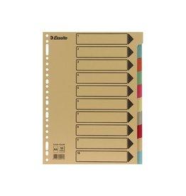 Esselte Esselte tabbladen 10 tabs, karton van 275 g/m²