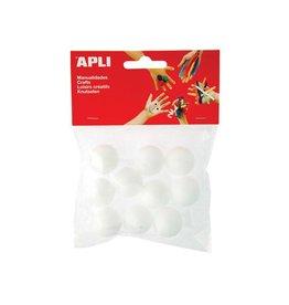 Apli Kids Apli isomobol, diameter 25 mm, blister met 10 stuks