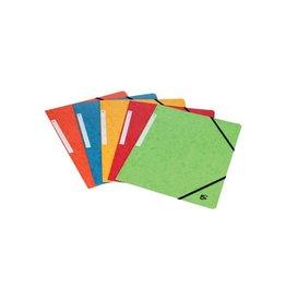5 Star 5 Star elastomap 3 kleppen, geassorteerde kleuren pak van 10