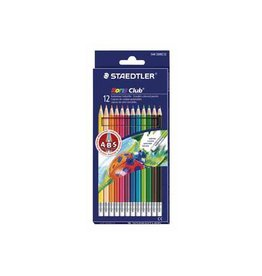 Staedtler Staedtler kleurpotlood Noris Club uitgombaar 12 potloden