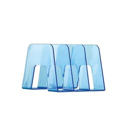Han Han Boekensteun transparant blauw