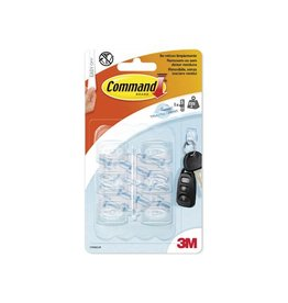 Command Command decohaak small draagvermogen 225g transp. 6st