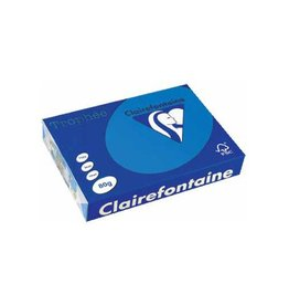Clairefontaine Papier Clairefontaine Trophée Intens A4 turkoois, 80 g, 500 vel
