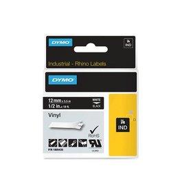 Dymo Lettertape Dymo 1805435 12mm zwart/wit