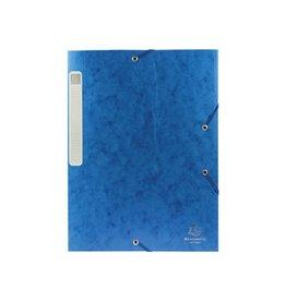 Exacompta Exacompta Elastobox Cartobox rug 2,5cm blauw 5/10e kwaliteit