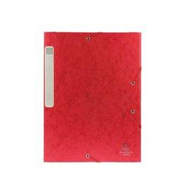 Exacompta Exacompta Elastobox Cartobox rug 2,5cm rood 5/10e kwaliteit