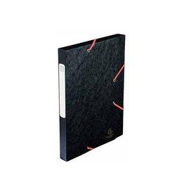 Exacompta Exacompta Elastobox Cartobox rug 2,5cm zwart 5/10e kwaliteit