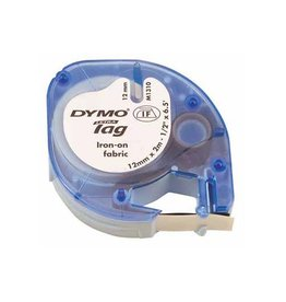 Dymo Dymo LetraTAG opstrijkbare tape 12 mm, wit