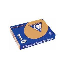 Clairefontaine Papier Clairefontaine Trophée Pastel A4, 80 g, 500 vel, mokkabruin