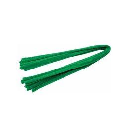 Bouhon Bouhon chenilledraad groen, pak van 10 stuks