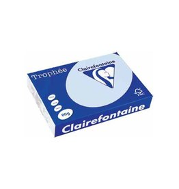 Clairefontaine Papier Clairefontaine Trophée Pastel A4, 80 g, 500 vel, blauw