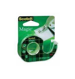 Scotch Scotch plakband Magic Tape, 19mmx7,5m,blister met dispenser