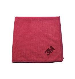 3M 3M microvezeldoek, rood, pak van 10 stuks