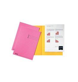 Esselte Esselte dossiermap roze, pak van 100 stuks