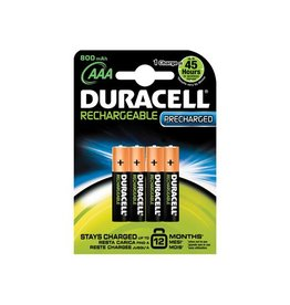 Duracell Duracell oplaadbare batterijen Recharge Ultra AAA,blister4st