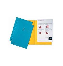 Esselte Esselte dossiermap blauw, karton van 180 g/m², pak van 100st