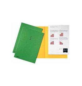 Esselte Esselte dossiermap groen, karton van 180 g/m², 100 stuks