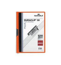 Durable Durable klemmap Duraclip Original 30 oranje