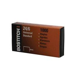 Bostitch Bostitch nietjes 24-6-1MGAL 6mm verzinkt doos 1000 nietjes