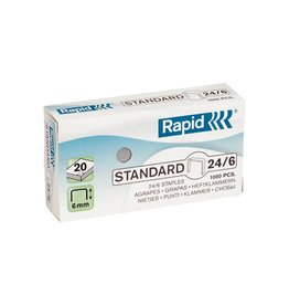 Rapid Rapid Nietjes 24/6, gegalvaniseerd, doos van 1.000 nietjes