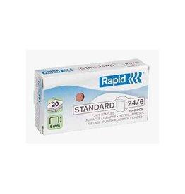 Rapid Rapid Nietjes 24/6, koper, doos van 1.000 nietjes