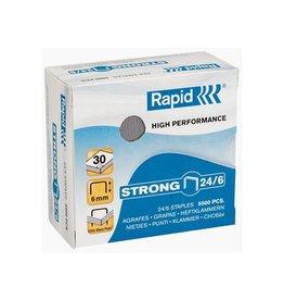 Rapid Rapid nietjes 24/6, verzinkt, doos van 5.000 nietjes