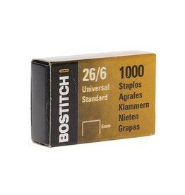 Bostitch Bostitch nietjes 6 mm, verzinkt