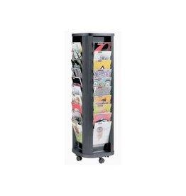 Paperflow Paperflow Mobiele folderhouder Carrousel