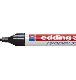Edding Edding permanent marker 3000 zwart