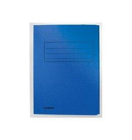 Classex Class'ex dossiermap, 3 kleppen, blauw