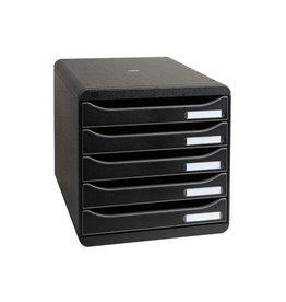 Exacompta Exacompta ladenblok Big-Box Plus Classic, zwart