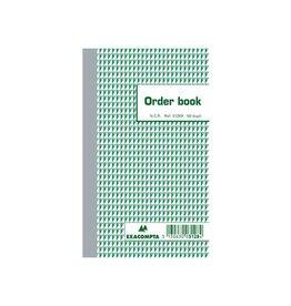 Exacompta Exacompta orderbook, ft 17,5 x 10,5 cm, dupli (50 x 2 vel)