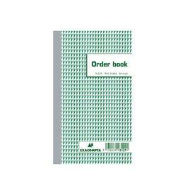 Exacompta Exacompta orderbook, ft 17,5 x 10,5 cm, tripli (50 x 3 vel)