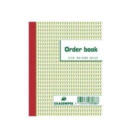 Exacompta Exacompta orderbook, ft 13,5 x 10,5 cm, tripli (50 x 3 vel)