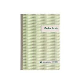 Exacompta Exacompta orderbook, ft 29,7 x 21 cm, dupli (50 x 2 vel)