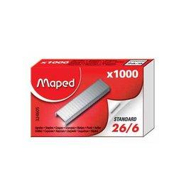 Maped Office Maped nietjes 26/6, doos van 1.000 nietjes