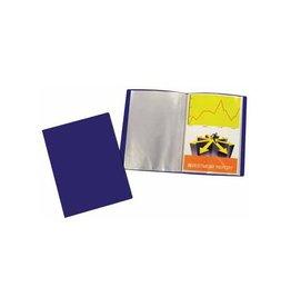 5 Star 5 Star showalbum, ft A4, 20 tassen, blauw
