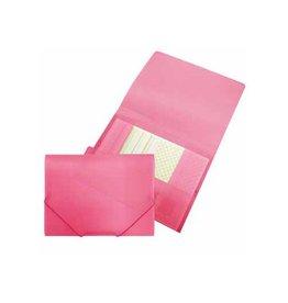 Beautone Beautone elastomap met kleppen, ft A4, roze