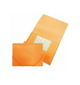 Beautone Beautone elastomap met kleppen, ft A4, oranje