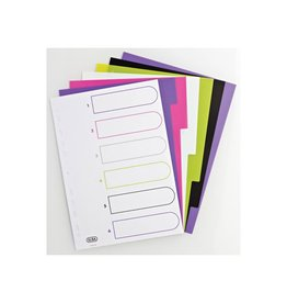 Elba Elba Tabbladen MyColour 6 tabs, geassorteerde kleuren
