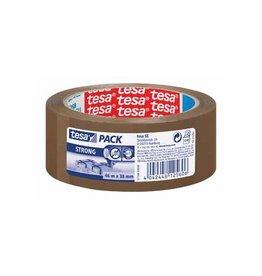 Tesa Tesa verpakkingsplakband Strong, 38mmx66 m, PP, bruin [8st]