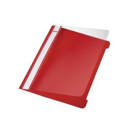Leitz Leitz Snelhechtmap rood, ft A5, doos van 25 stuks
