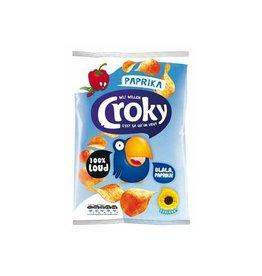 Croky Croky chips paprika, zakje van 100 gram [12st]