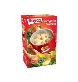 Royco Royco Minute Soup gevogelte met croutons, pak van 20 zakjes